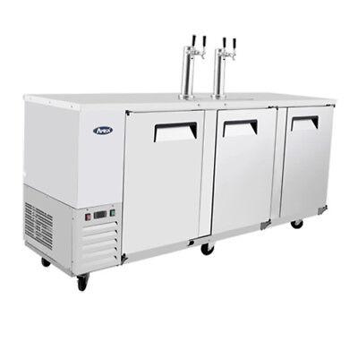 Atosa Mkc90 90 Three Door 4 Keg Capacity Draft Beer Cooler