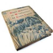 Vintage Alice in Wonderland Book