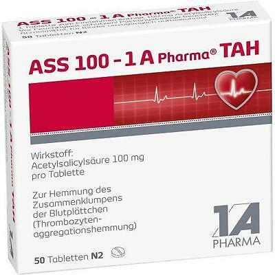 ASS 100 1A Pharma TAH Tabletten 50St 6312060