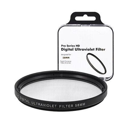 58mm UV Digital Multi-Coated Lens Glass Filter
