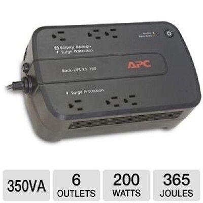 APC BE350G Backup Battery Surge Protector Uninterruptible Power Supply READ !