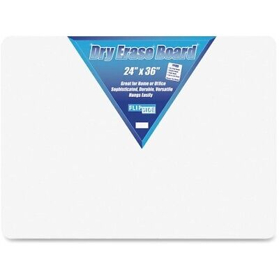 Flipside Inc. Dry Erase Board 24x36 White 1 Each Flp10088