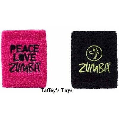 Zumba ~ Peace Love Wristbands - 2 Pack! ~ Free Shipping!