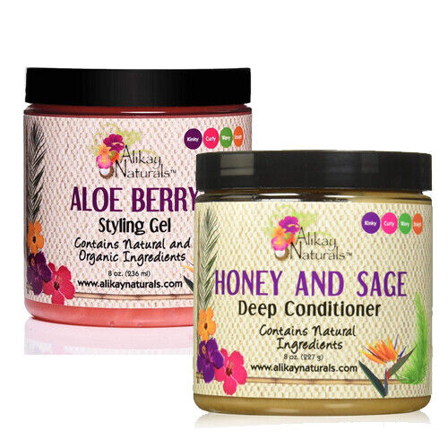 Alikay Naturals Aloe Berry Styling Gel 8oz w/ FREE Nail File