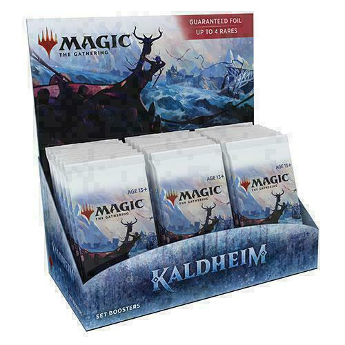 Mtg Kaldheim Set Booster Box Brand New Factory Sealed In Stock