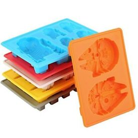 Star Wars Baking Moulds / Ice Cube Tray (Brand New)
