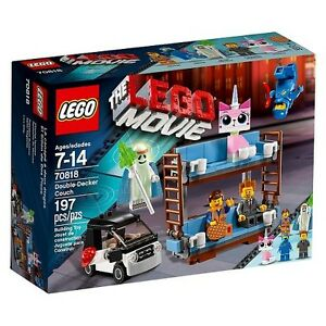 the lego movie double decker couch 70818 play set ebay