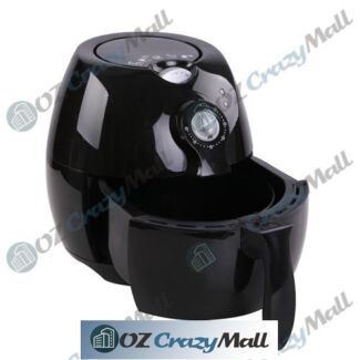 2.2L SAA/CE/GS Approval Oil-Less Air Fryer Black/White