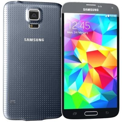 NEW Samsung Galaxy S5 SM-G900T 16GB Black T-Mobile Factory Unlocked Smartphone