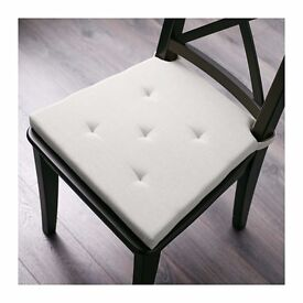 2 x Ikea cream chair pads, great condition, price is for set of 2