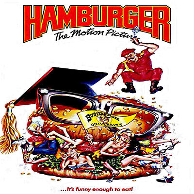 Hamburger: The Motion Picture, 1986, Original Movie, DVD Video,  Leigh McCloskey