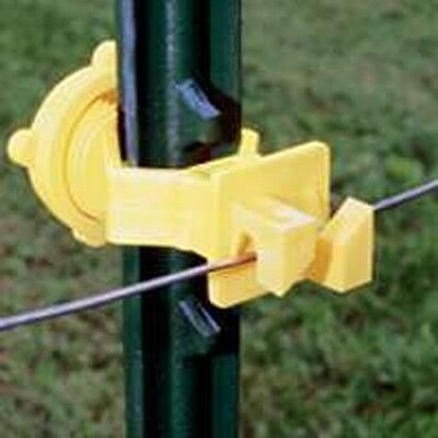 New Fi-shock Itsoy-fs Pack 25 T Post Electric Fence Insulators Sale 6865679