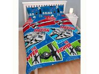 STAR WARS CRAFT . Double duvet set. Brand new in pack.