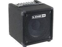 Line 6 LowDown Studio 110 Bass Combo Amp (Perfect for beginners!)