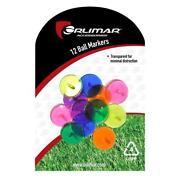 Plastic Golf Ball Markers