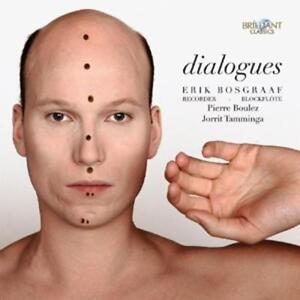 Bosgraaf Erik - Dialogues - Music for Recorder - CD NEU