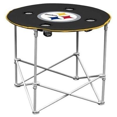 PITTSBURGH STEELERS NFL 30 INCH ROUND TAILGATE TABLE Pittsburgh Steelers Nfl Tailgate Table
