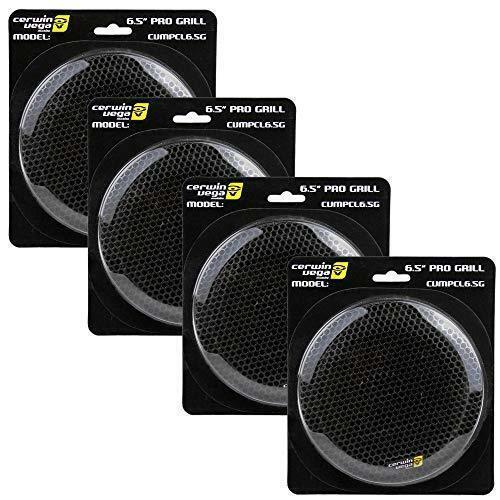 "Cerwin Vega 6.5"" Press Fit Speaker Mesh GrillAccessory CVMPCL6.5G 4 Pro Series"