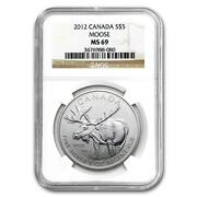2012 Canadian Silver Moose