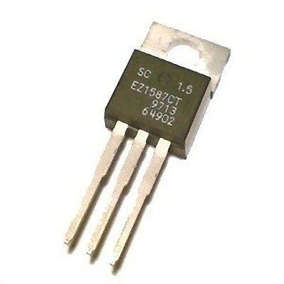 Lot Of 2 Voltage Regulator 1.5v 3a To-220