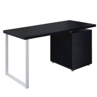 Office Computer Desk Home Study Table 3 Drawer Cabinet Student