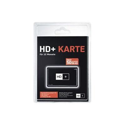 HD+ Karte 12 Monate NEU SAT HD+ Empfang