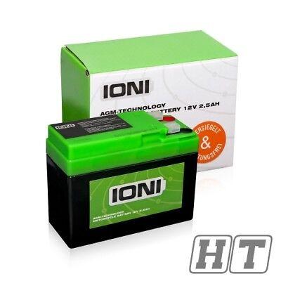 Batterie Ioni 12V 2,5ah AGM Ytr4a - BS für Honda SXR BSV SH SFX X8R - X X8R - S