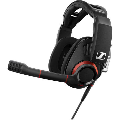 Sennheiser Wired Stereo Gaming Headset Red/Black GSP 500