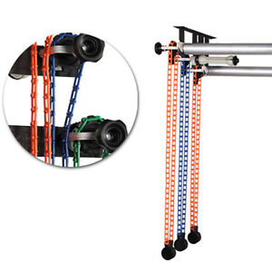 Photography 3-Roller Wall Mounting Manual Background Support System