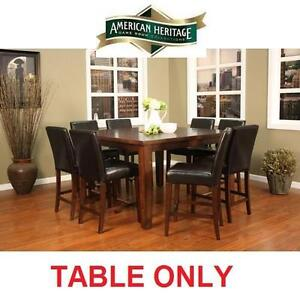 NEW* AH COUNTER HEIGHT PUB TABLE - 116633067 - AMERICAN HERITAGE