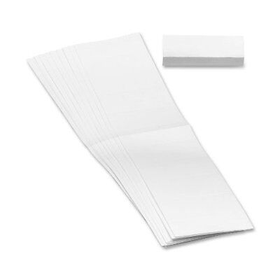Smead 68670 White Hanging File Folders - Blank - 3 Tabsset - 100 Pack -