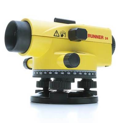 Brand New Leica Runner 24 Automatic Optical Level Surveying 1 Month Warranty