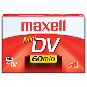TWO PACK OF MAXELL MINI DV 60 MINUTE TAPES-NEW!!! $10.00