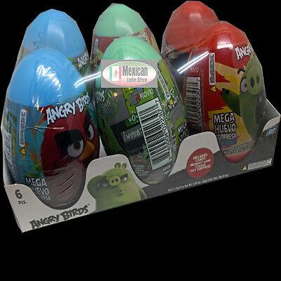 Angry Birds Mega Egg Surprise 6-pcs box