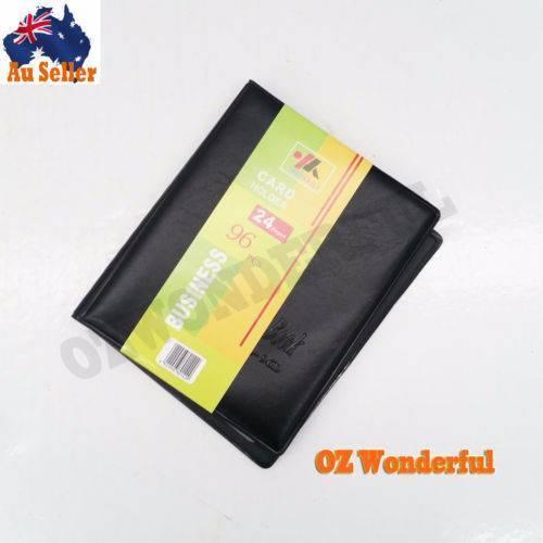 24 Pages 96pkts Business Card Holder Booklet Folder Wallet