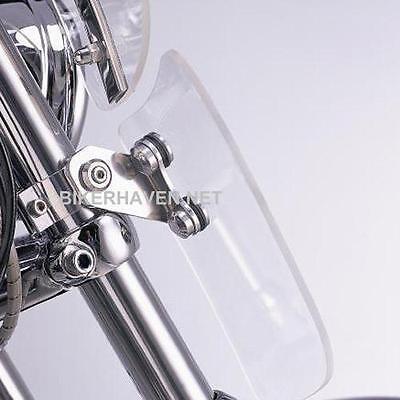 Memphis Shades Clear Windshield Lowers KIT Harley VRSCB V-Rod 2002 - (V Rod Sunglasses)