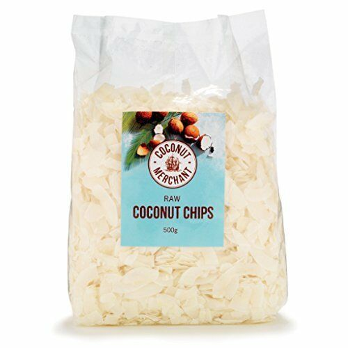 Coconut Merchant Raw Coconut Chips 500g