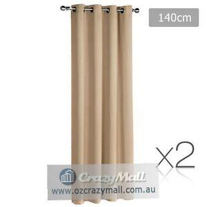 2 Blockout ArtQueen 3 Layers Curtains Different Color Choice Melbourne CBD Melbourne City Preview