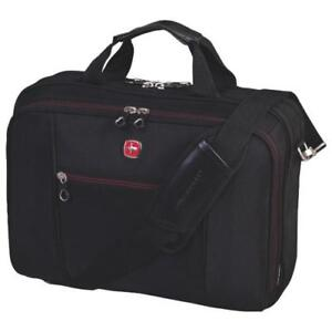 NEW Swiss Gear SWA0907 Laptop Brief with Red lining Condition: New