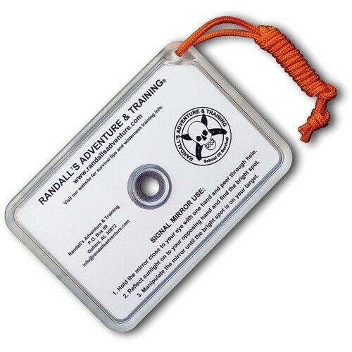 ESEE SIGNAL-MIRROR RAT Long Range Search/Rescue Survival Signal Mirror