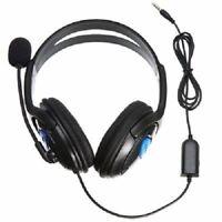 CUFFIA CON AURICOLARE CUFFIE PER PS4  X- ONE X- BOX MICROFONO E CONTROLLO  VOLUME e9211e394200