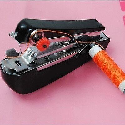 Portable Needlework Cordless Mini Hand Held Clothes Fabrics Sewing Machine Tools