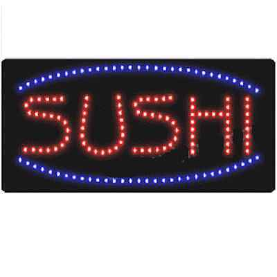 Animated Motion Led Restaurant Business Sushi Sign Onoff Switch Open Light Neon