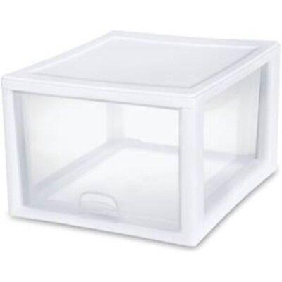 Sterilite 27 Quart Clear Stacking Drawer 23108004