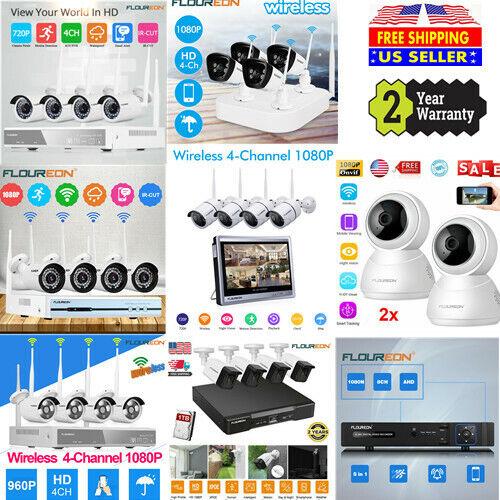 8CH / 4CH smart CCTV 1080P DVR Kit Wifi WLAN 1080 IP Camera