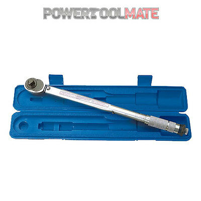Draper 30357 1/2inch Square Drive 30-210Nm Ratchet Torque Wrench