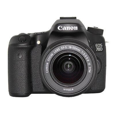 Canon Eos 70D Dslr Camera W 18 55Mm Lens