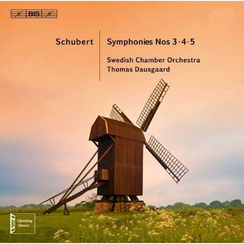 Schubert Sinfonien 3 bis 5 - Dausgaard,Swedish Chamber Orchestra SACD