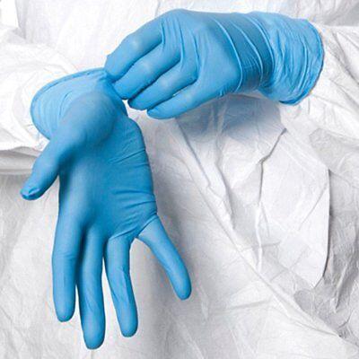100 Shield™ Nitrile Disposable Powder Free Gloves (Non Latex Vinyl Exam) Small