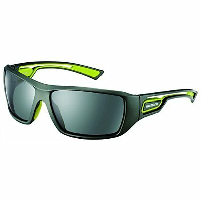 b19bfd113d4b SHIMANO HG-008M Fishing Sunglasses Green Polycarbonate Polarized Lens Japan  NEW